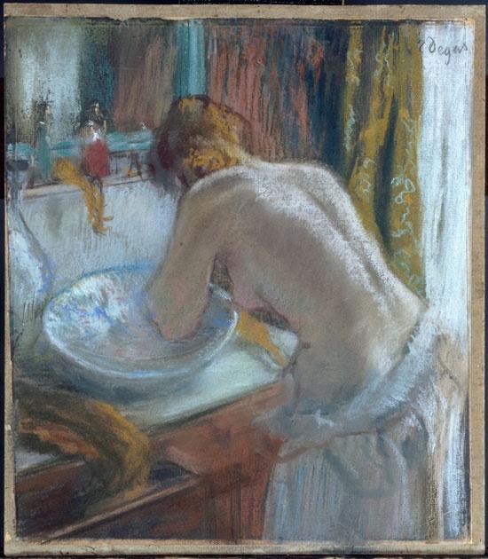 Edgar Degas, La Toilette, 1884-86