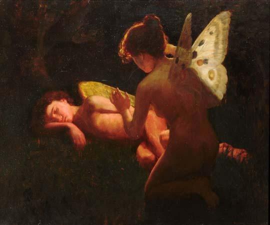 Cupido e Psiche di Middleton Jameson, 1898