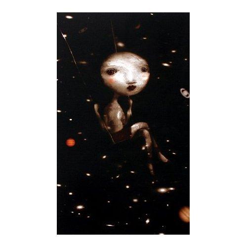 the moon  di Nicoletta Ceccoli