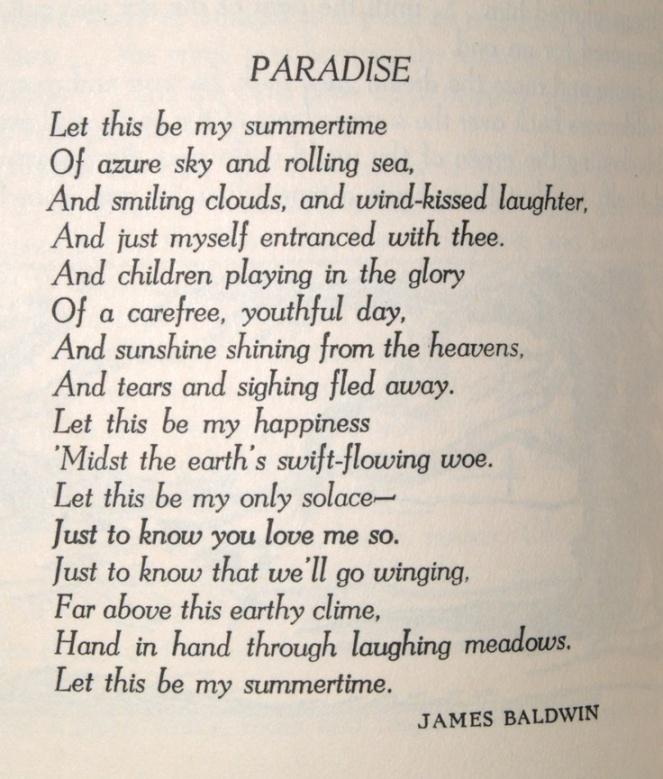 Paradise James Baldwin