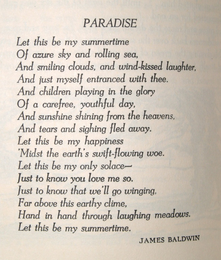 Paradise James Baldwin