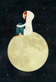 Camminare sulla Luna…
