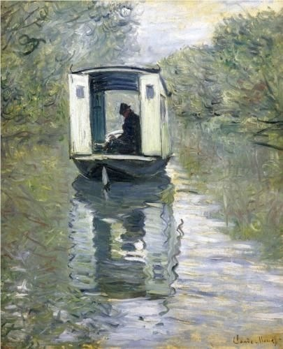 Monet studio boat