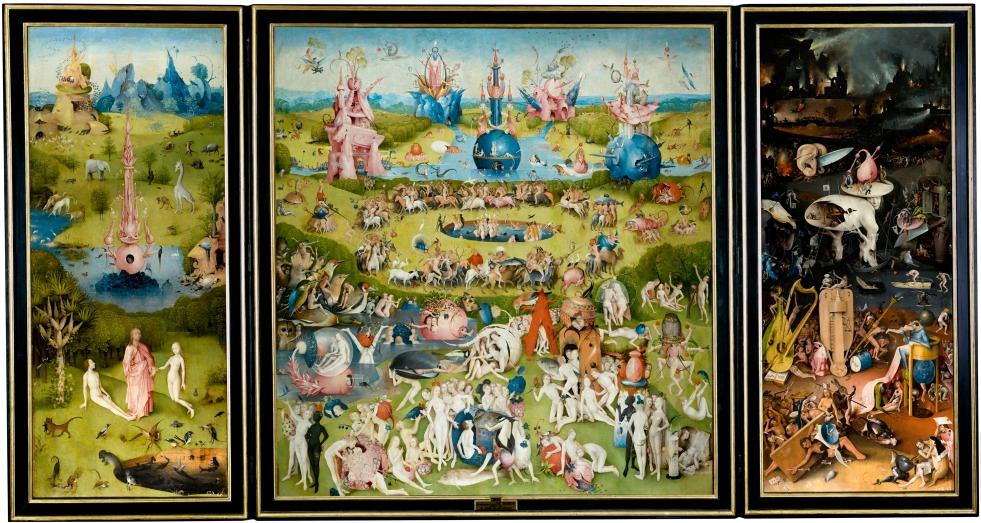 il giardino delle delizie, Hieronymus Bosch